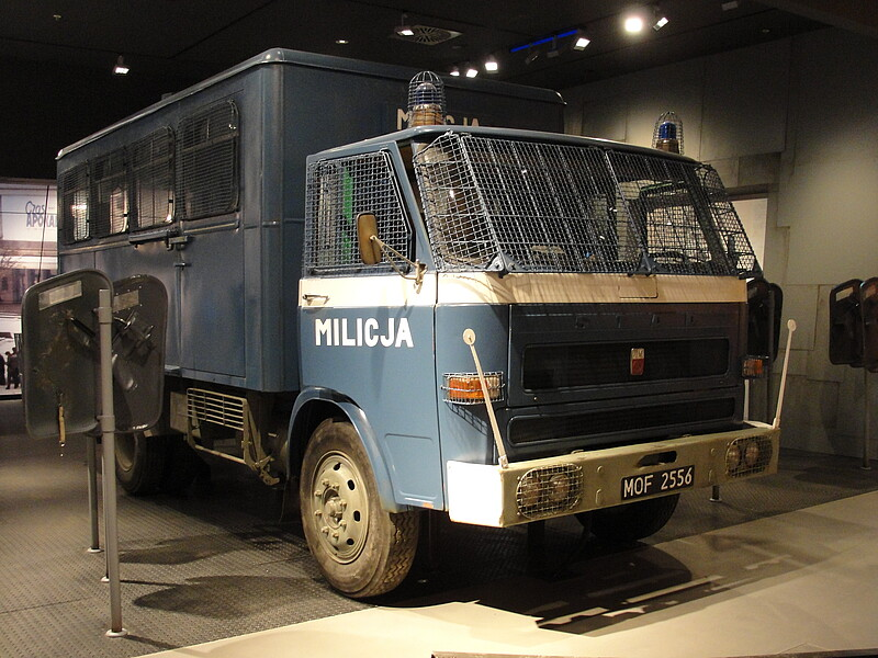 original transporter used by the militias visitors